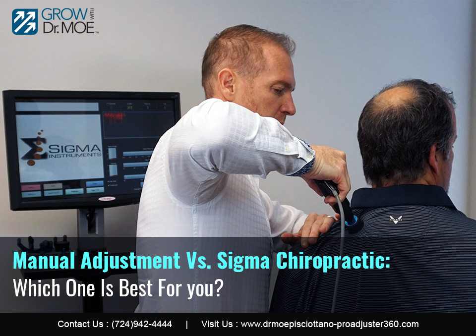Manual Adjustment Vs. Sigma Chiropractic: Which One Is Best for you?