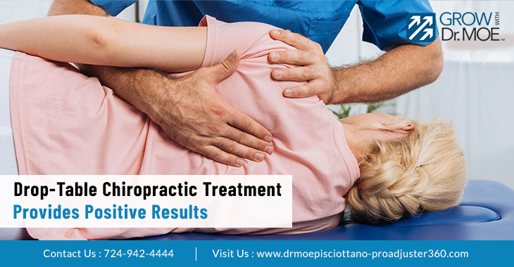Drop-Table Chiropractic Treatment Provides Positive Results